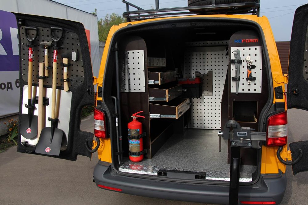 Mobile Workshops Racking Systems For Vehicles